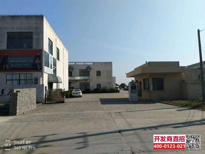 松江佘山104地块可环评独栋厂房出售2000-3000平双层三层厂房独栋 出售