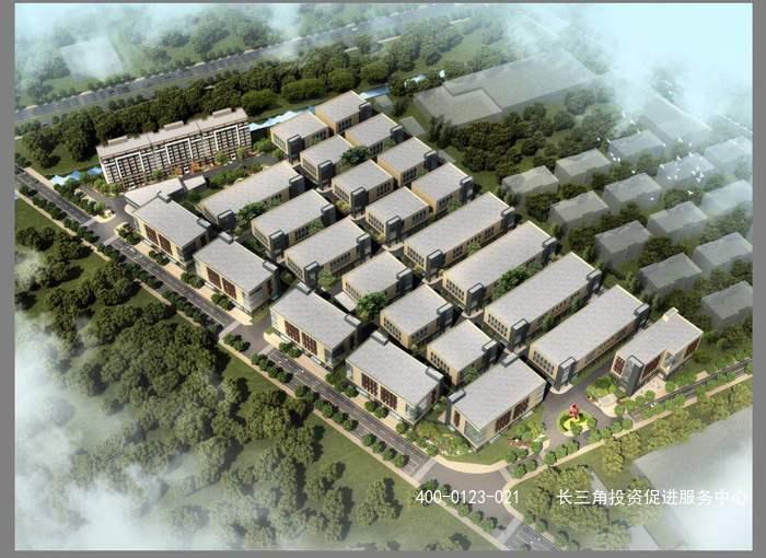 G2104松江区新桥镇 紧靠闵行莘庄工业区 36栋办公、研发、生产一体化厂房出售 预售中 1300万